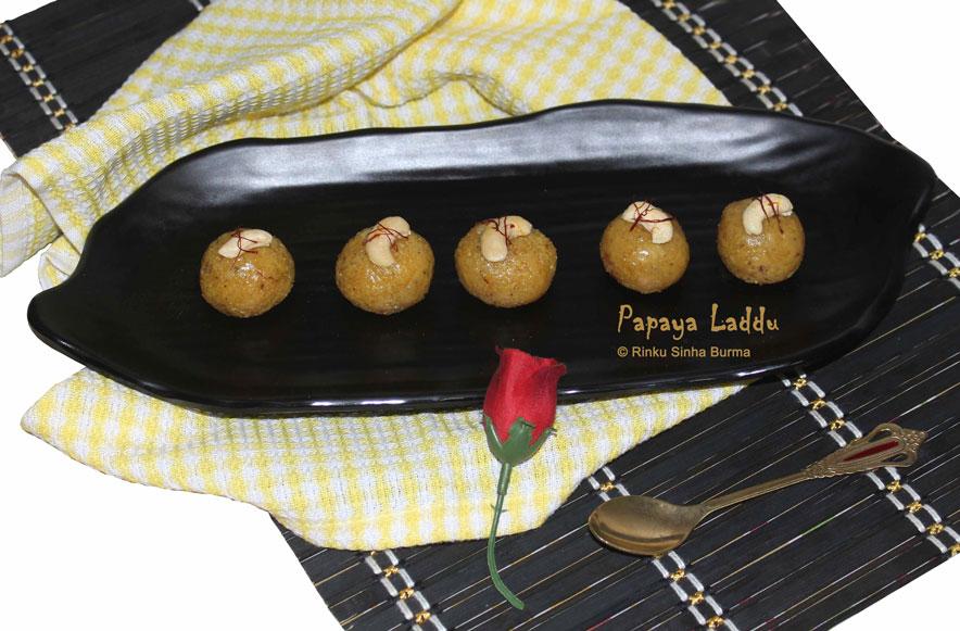Papaya Laddu