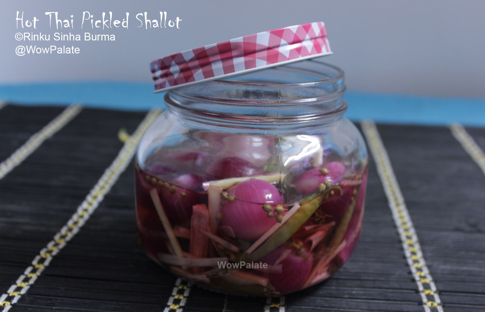 Hot Thai Pickled Shallot
