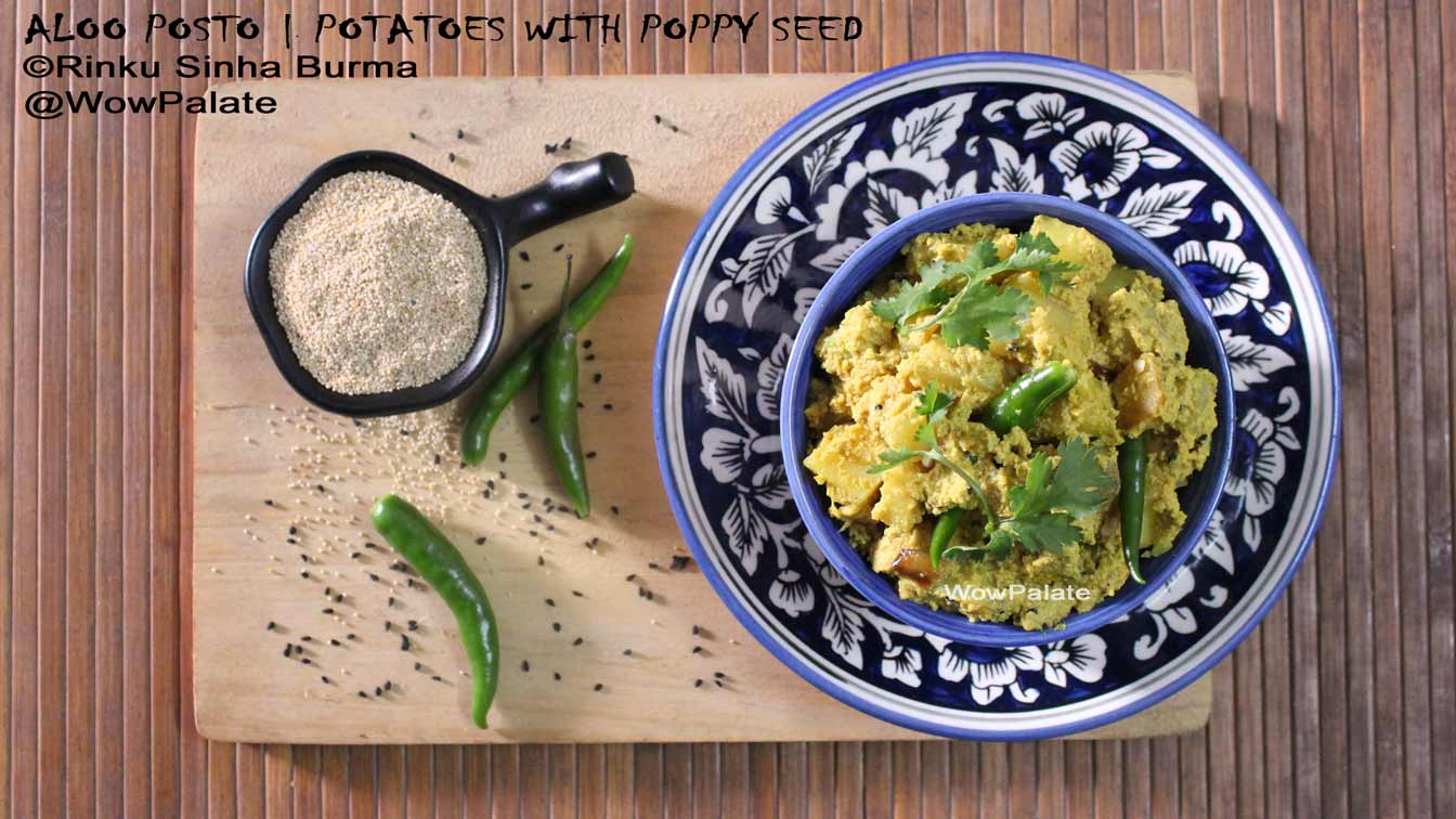 Aloo Posto Recipe | Potatoes with Poppy Seed