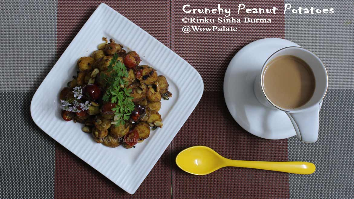 Crunchy Peanut Potatoes