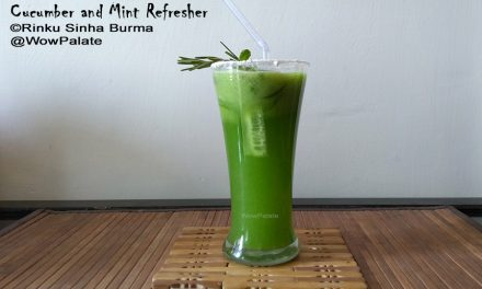 Cucumber and Mint Refresher Recipe