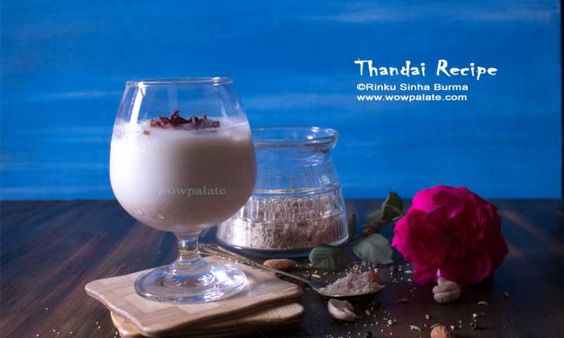 Thandai Recipe | Sardai Recipe | How to make Thandai Recipe for Holi Festival