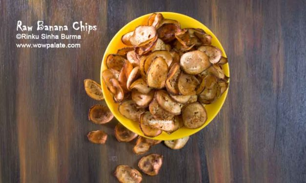 Raw Banana Chips Recipe | Yellow Banana Chips | Banana Wafers | Raw Banana Wafers