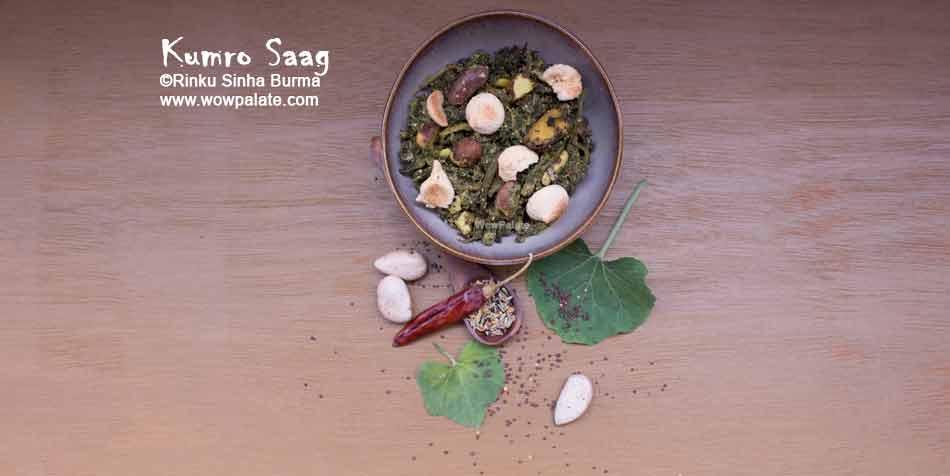 Kumro Saag Recipe