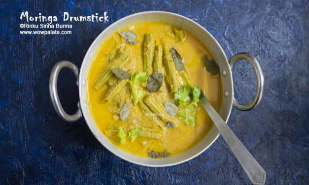 Moringa Drumstick Recipe | Sojana Data Posto | Sojana Data Chorchori | Dry Drumstick and Poppy Seeds Vegetable Recipe