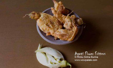 Bok Phool Bhaja | Agasti Flower Fritters | Bokful Bhaja Recipe