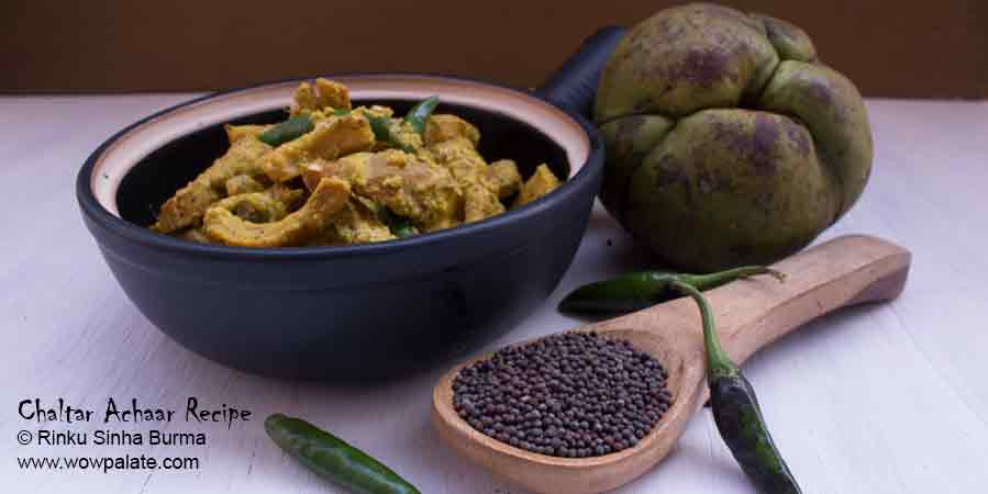 Chaltar Achaar Recipe