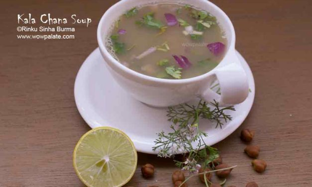 Kala Chana Soup | Black Chickpea Soup | Chane Ka Shorba Recipe