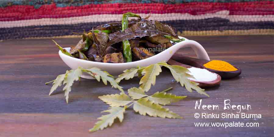 Neem Begun Recipe