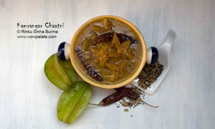 Kamrangar Chaatni Recipe | Kamrakh Ki Chutney | Starfruit Sauce | Carambola Chutney
