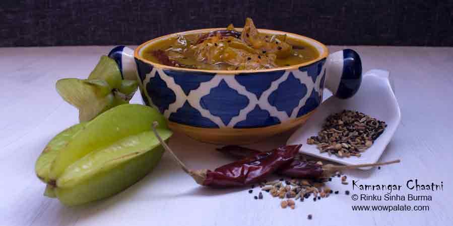 Kamrangar Chaatni Recipe