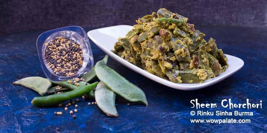 Sheem Chorchori Recipe