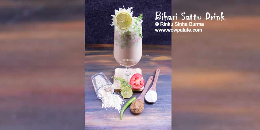 Bihari Sattu Drink Recipe