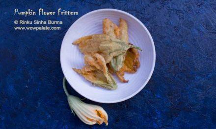 Pumpkin Flower Fritters | Pumpkin Flower Recipe | Fried Pumpkin Flower Recipe | Kumro Phuler Pakora
