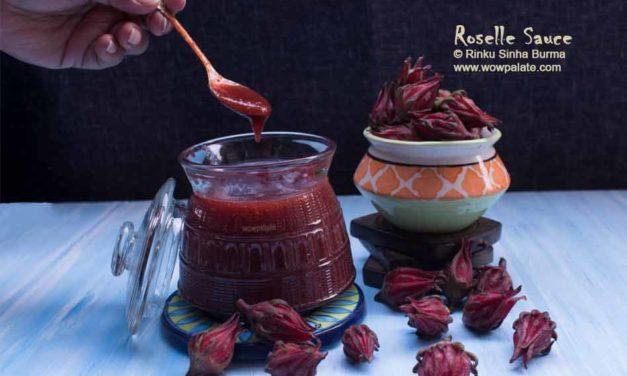Roselle Sauce Recipe | Roselle Chutney | Roselle Flower Recipe | Rosella Recipe
