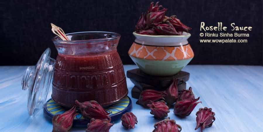 Roselle Sauce Recipe