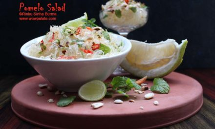 Pomelo Salad | Batabi Lebu Salad | Chakotra Salad | Pomelo Recipe