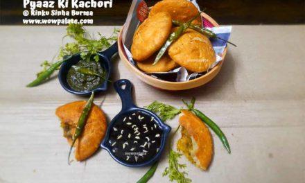 Pyaaz Ki Kachori | Rajasthani Pyaaz Kachori | Onion Kachori Recipe