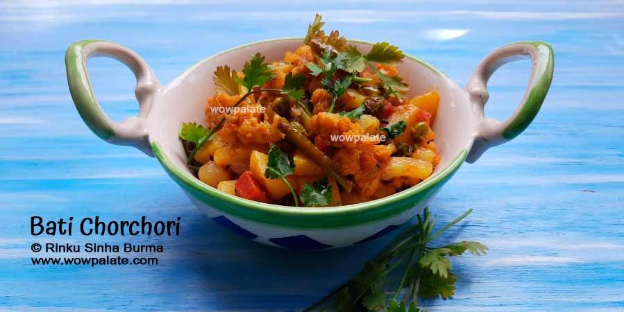 Bati Chorchori Recipe