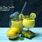 Minty Mango Smoothie | Mango Smoothie Recipe | How To Make Mango Smoothie