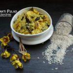 Basanti Pulao Recipe | Mishti Pulao | Holud Pulao | Mithi Chawal | Sweet Rice