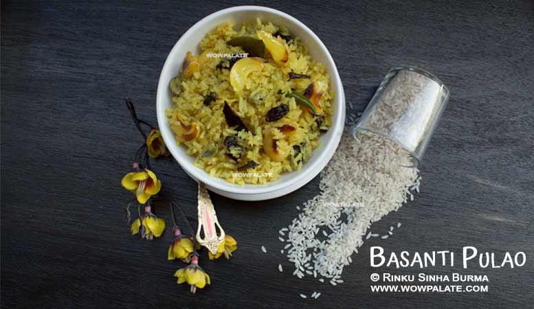 Basanti Palao Recipe