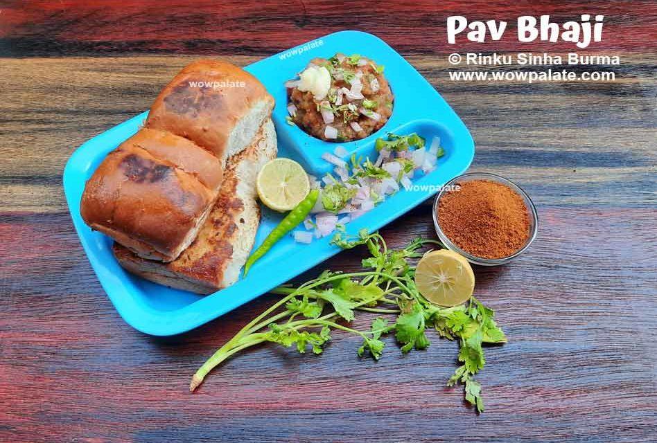 Pav Bhaji Recipe | Mumbai Pav Bhaji | Easy Mumbai Style Pav Bhaji